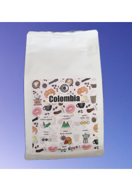 CAFÉ COLOMBIA 100% COFFYRIGHT